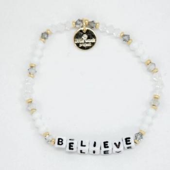 Little Words Project Bracelet - Believe