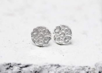 Pieces Of Me Earrings - Compassionate (Silver)