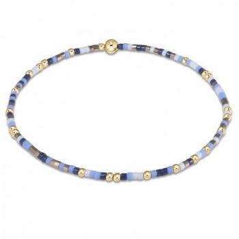 enewton Beaded Bracelet - Varsity Blues