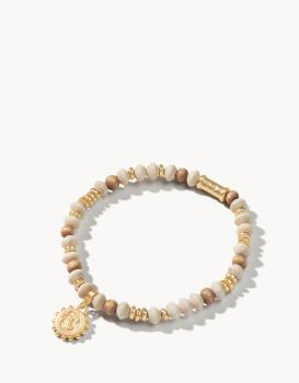 Spartina 449 Wood Bead Stretch Bracelet