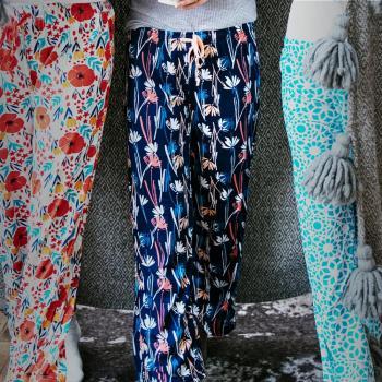 Hello Mello Pajama Pants - Twilight Meadow