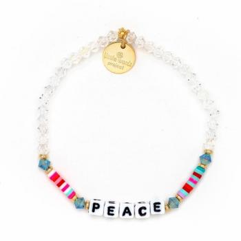 Little Words Project Bracelet - Peace