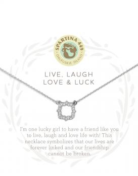 Spartina 449 Necklace - Live, Laugh, Love & Luck