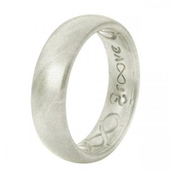 Groove Life Silicone Ring - Metallic Pearl