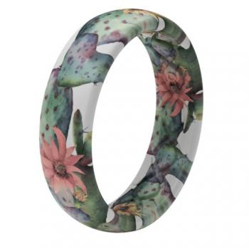 Groove Life Silicone Ring - Cactus Bloom