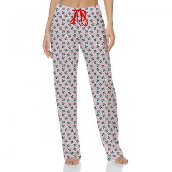 Hello Mello Pajama Pants - Holly Berry