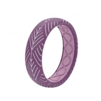 Groove Life Silicone Ring - Arrows Lilac