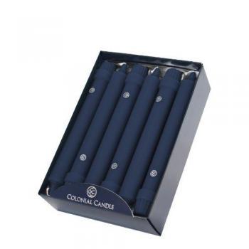 8 Inch Indigo Blue Classic Candles