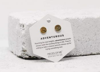 Pieces Of Me Earrings - Adventurous (Gold)