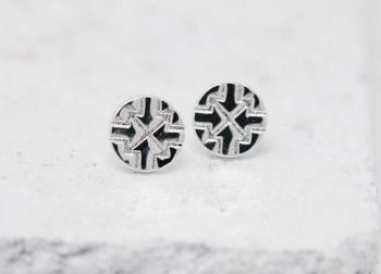 Pieces Of Me Earrings - Driven (Silver)