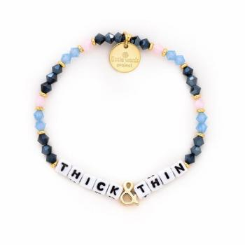 Little Words Project Bracelet - Thick&Thin