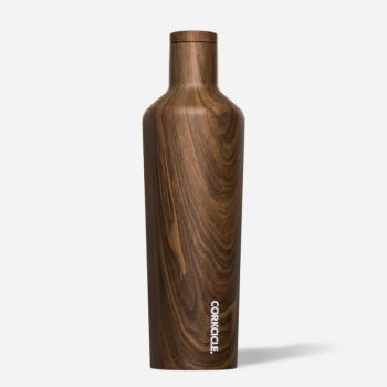 Corkcicle Canteen Walnut 25 oz