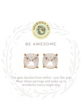 Spartina 449 Stud Earrings - Be Awesome