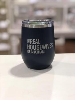 Real Housewives of Chatham - 12 oz Tumbler Navy
