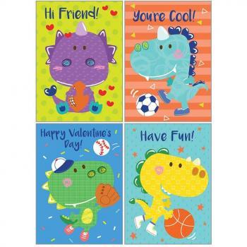 Kids Valentine Pack - Dinos