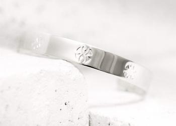 Pieces of Me Cuff Bracelet - Loyal