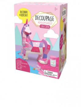 Decoupage Animals - Unicorn