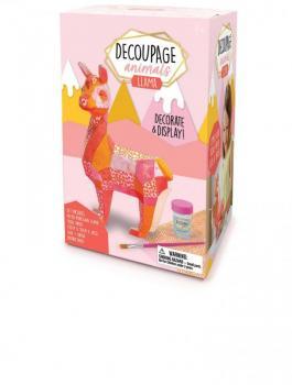 Decoupage Animals - Llama