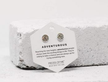 Pieces Of Me Earrings - Adventurous (Silver)