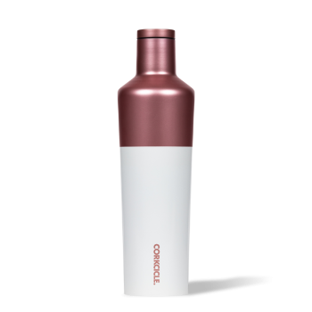 Corkcicle Color Block Canteen Rose Gold 25 oz