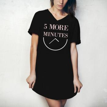Hello Mello Sleep Shirt - 5 More Minutes