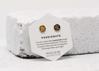 Pieces Of Me Earrings - Passionate (Gold)