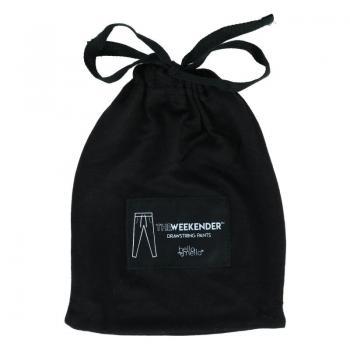 Hello Mello Weekender Drawstring Pants - Black