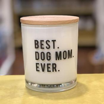 Best Dog Mom Ever Soy Candle (Apples & Maple Bourbon)