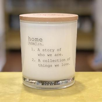 Home Definition Soy Candle (Teakwood & Tobacco)