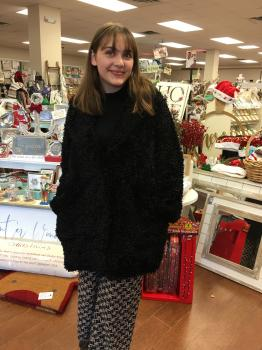 Soft Faux Fur Jacket with pockets