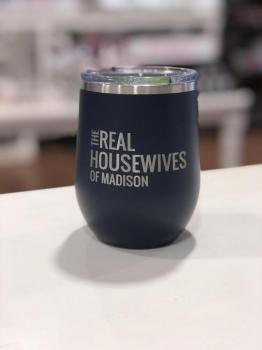Real Housewives of Madison - 12 oz Tumbler Navy