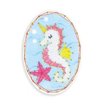 Sea & Do - Seahorse String Art Kit