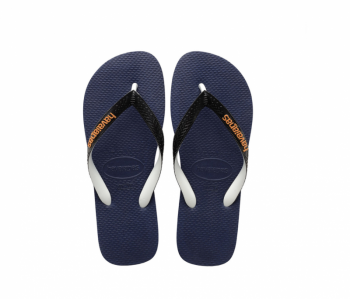 Havaianas Kid's Top Mix Navy/White Flip Flops