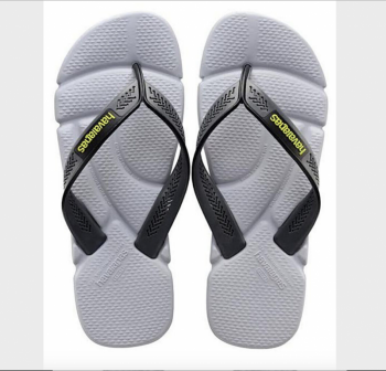 Havaianas Men's Power Flip Flop Steel Grey