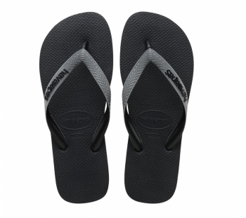 Havaianas Unisex Top Mix Black/Grey Flip Flops