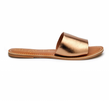 BEACH by Matisse Cabana Slide Sandal - Bronze