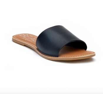 BEACH by Matisse Cabana Slide Sandal - Black