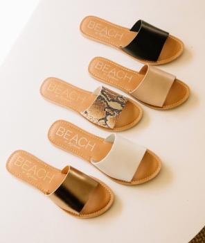BEACH by Matisse Cabana Slide Sandal - Natural