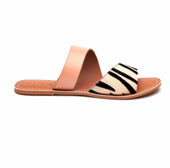 BEACH by Matisse Coastal Sandal - Zebra/Blush