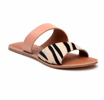 BEACH by Matisse Coastal Sandal - Zebra/Blush