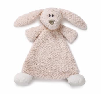 Demdaco Cozies Rattle Blankie - Belina Bunny