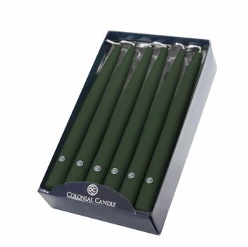 10 Inch Evergreen Handipt Candles
