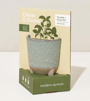 Glow and Grow Kit - with Basil Seeds