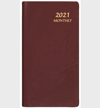 Payne Publishers Continental Upright Monthly Planner - 3.5 x 6.5