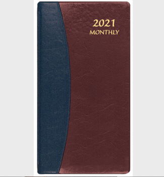 Payne Publishers Carriage Upright Monthly Planner - 3.5 x 6.5