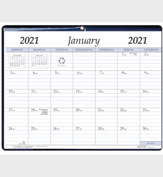 Payne Publishers 2021 Monthly Vinyl Calendar Pad