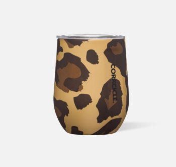Corkcicle Stemless - Luxe Leopard