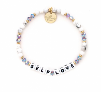Little Words Project Bracelet - Self Love (Cream Puff)