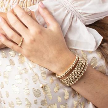 Enewton Classic 5mm Gold Bead Bracelet