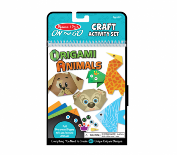 Origami Animals Craft Activity Set